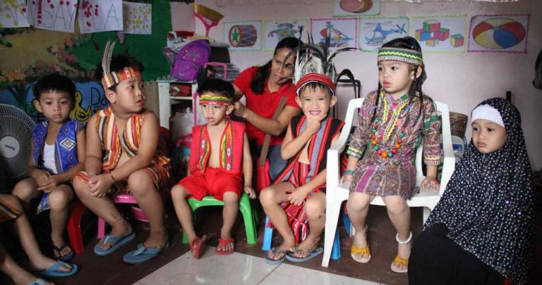 Blithe first Linggo ng Wika at First Step Learning School