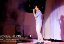 Photo of Bryan Termulo Live in Gensan 2014
