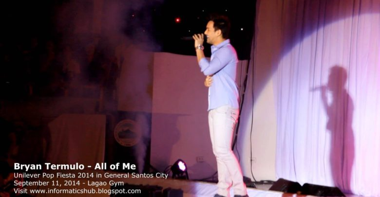 Bryan Termulo Live in Gensan 2014