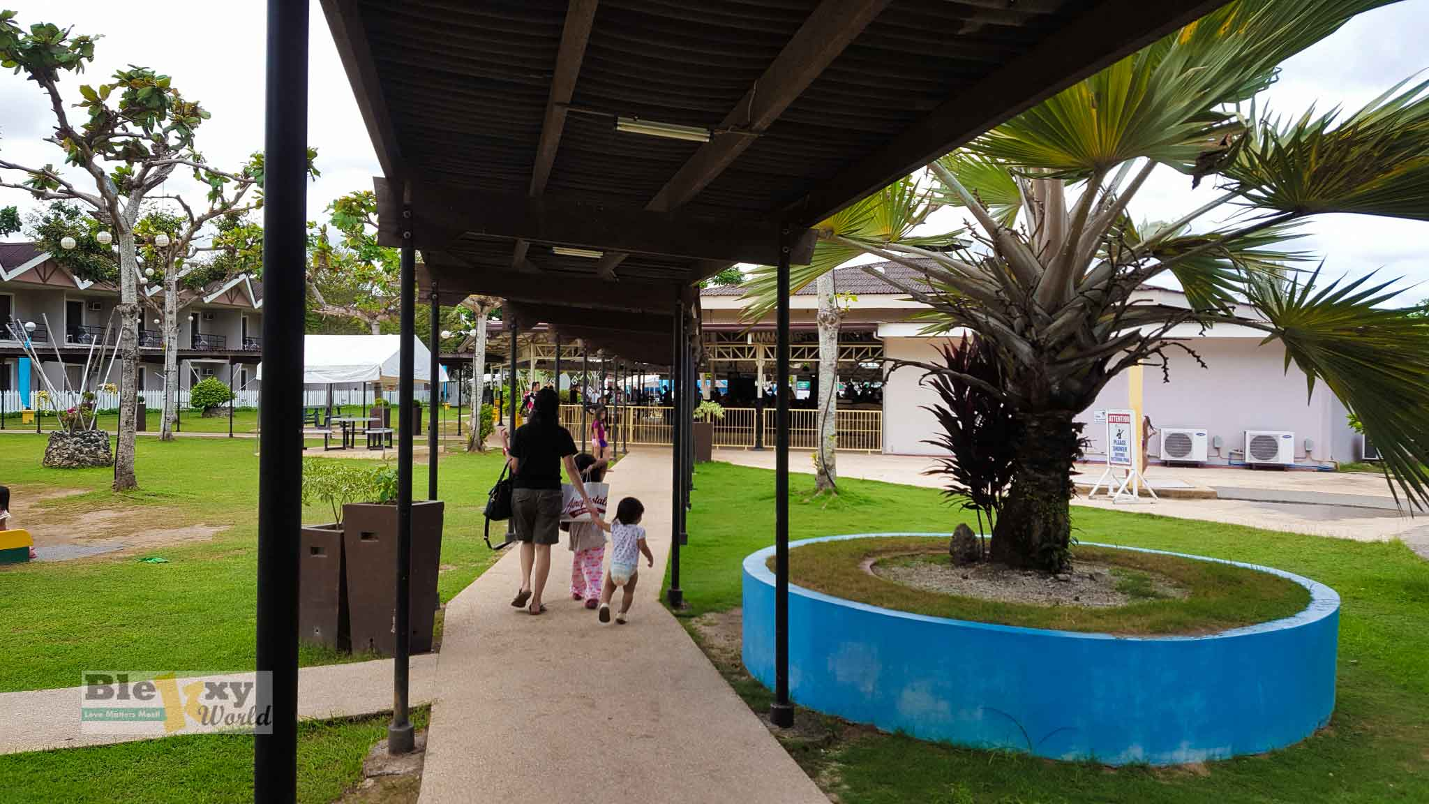 Camp-Holiday-Resort-Samal-Island-covered-pathway