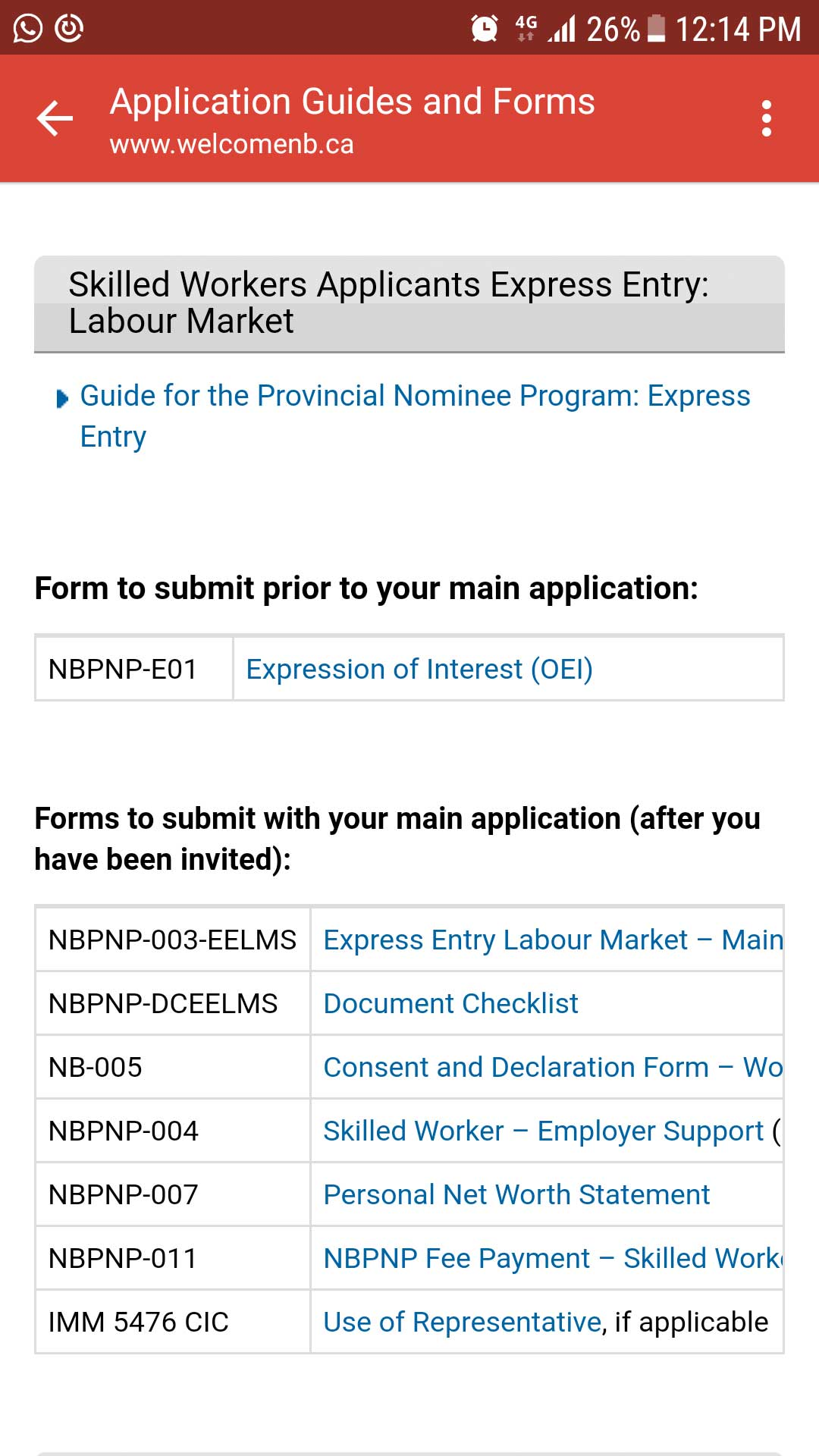 NBPNP Full Application Forms And Documents Needed