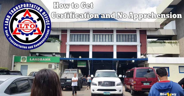 Lto Driver S License Certification And The Certificate Of No