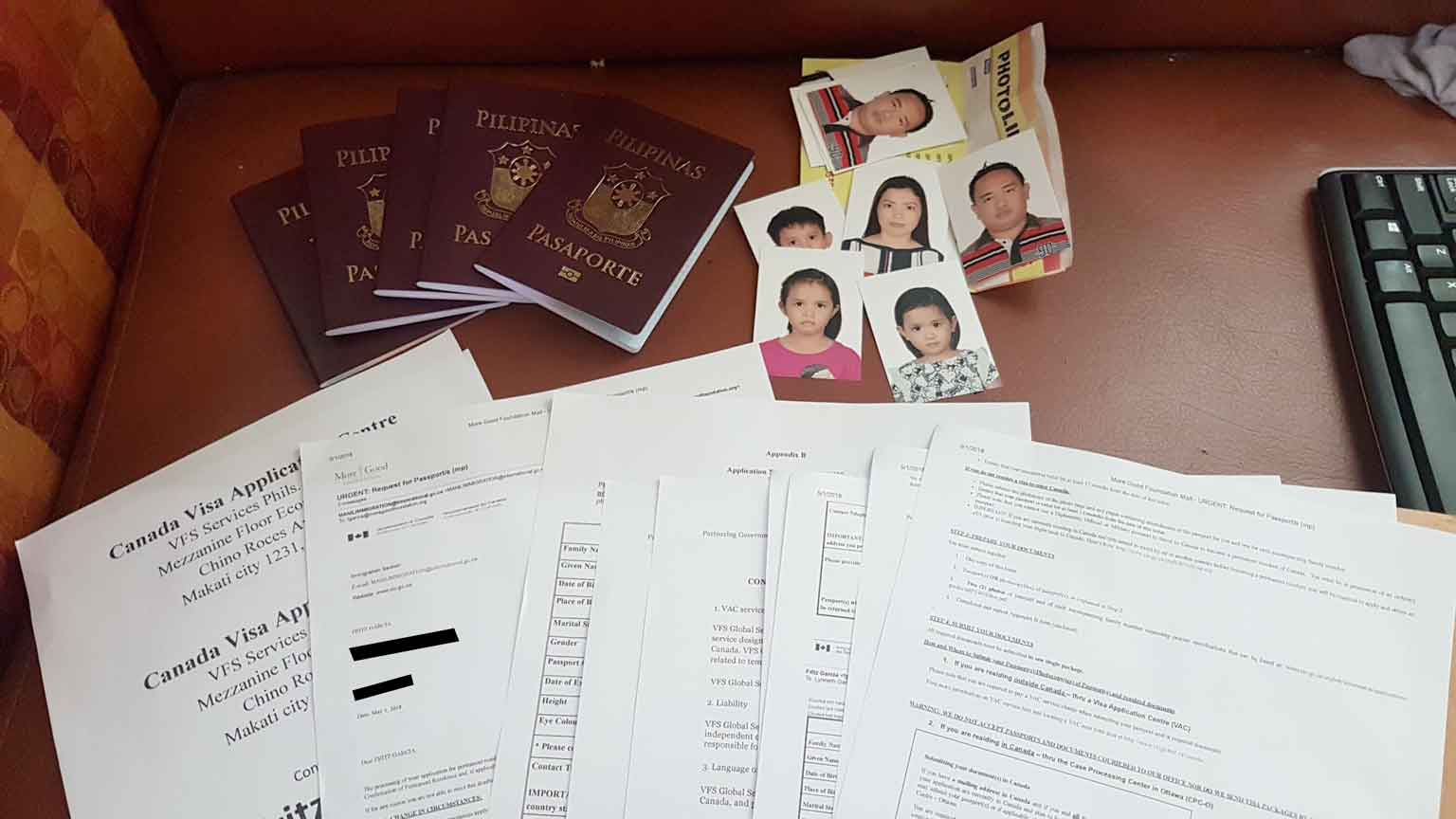 Passport Submission For Canadian Immigrant Visa