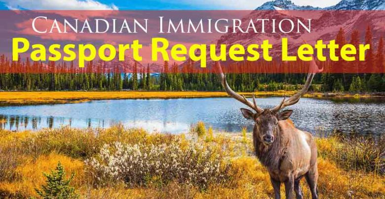 Passport Request Letter (PPR)