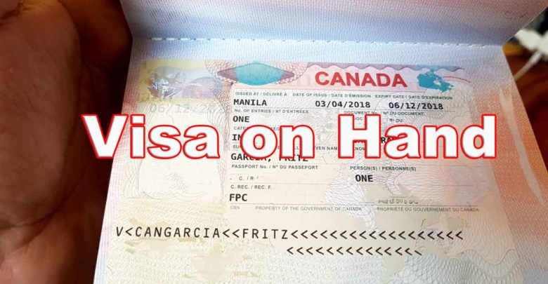 Our Canadian Immigrant Visa On Hand