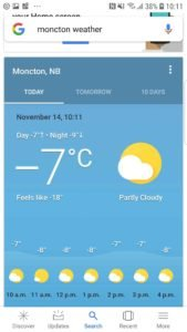 Moncton-Weather